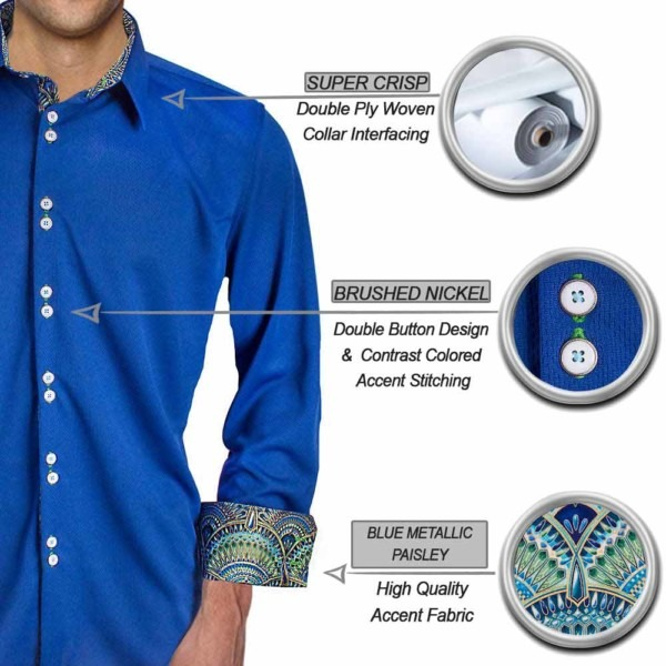 Blue-with-green-dress-shirts