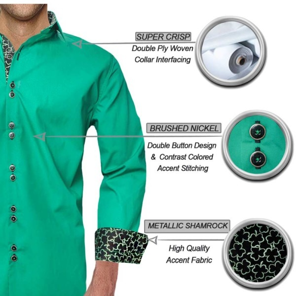 Green-Shamrock-Dress-Shirts
