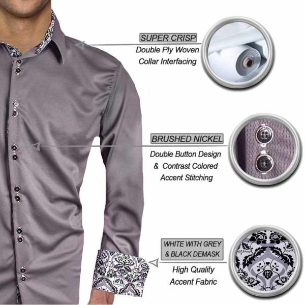 Grey-demask-Dress-shirts