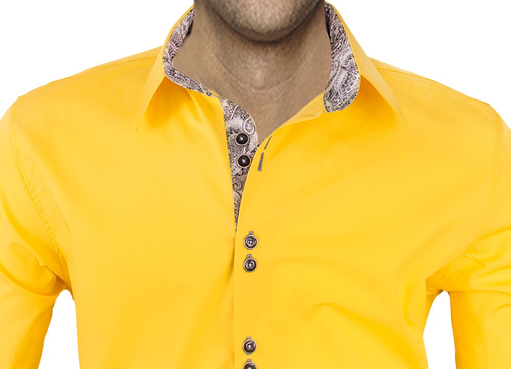 Yellow-paisley-shirts
