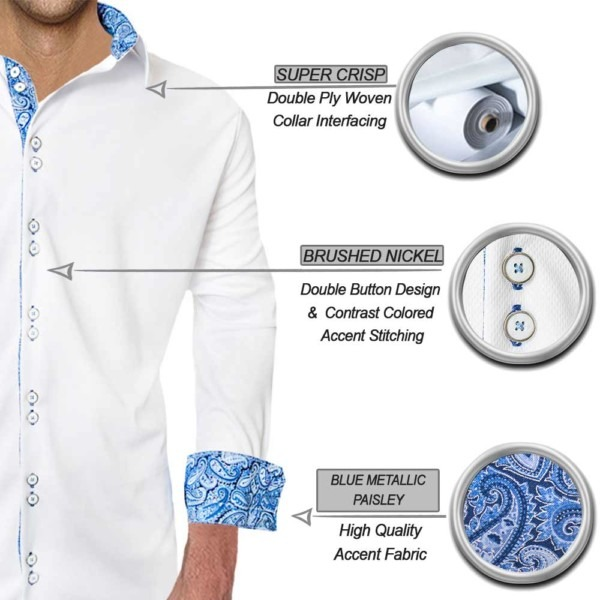 white-with-blue-metallic-dress-shirts