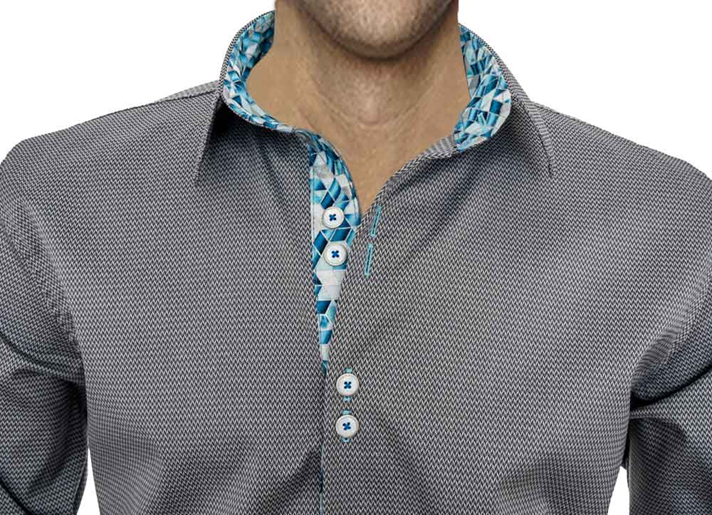 black-and-blue-dress-shirts