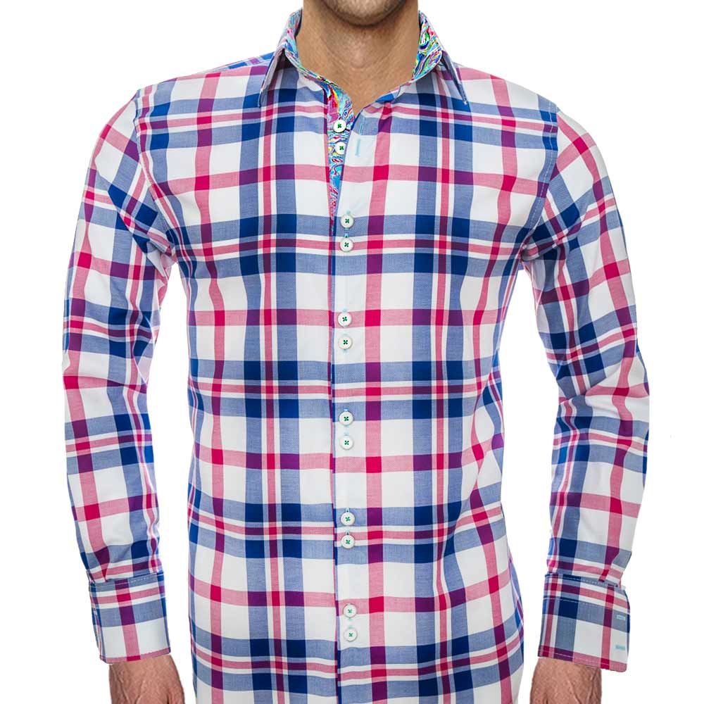 Blue-and-pink-plaid-shirts