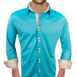 Bright-Teal-Dress-Shirts