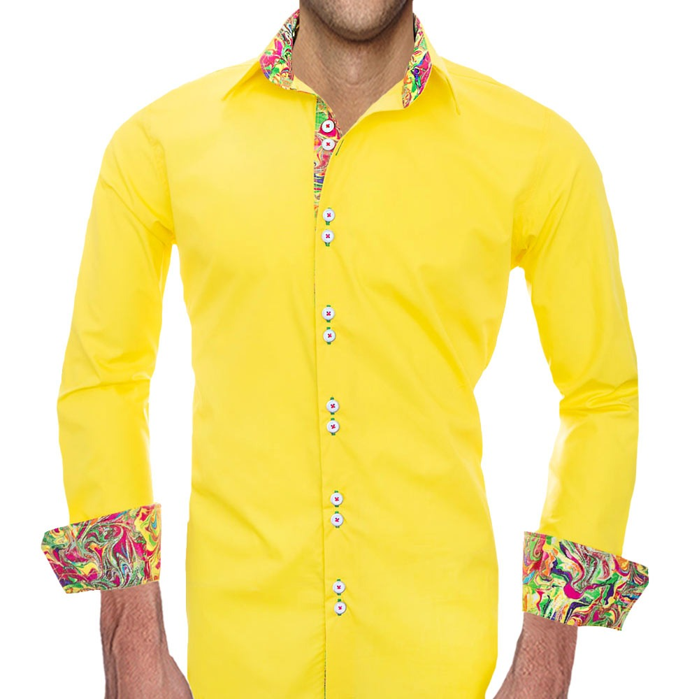 Bright-Yellow-Dress-Shirts