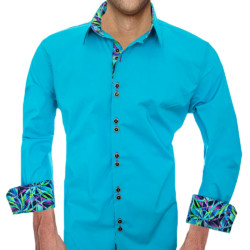 Modern-Turquoise-mens-Shirts