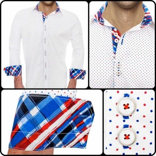 Multi-Color-Polka-Dot-Shirts