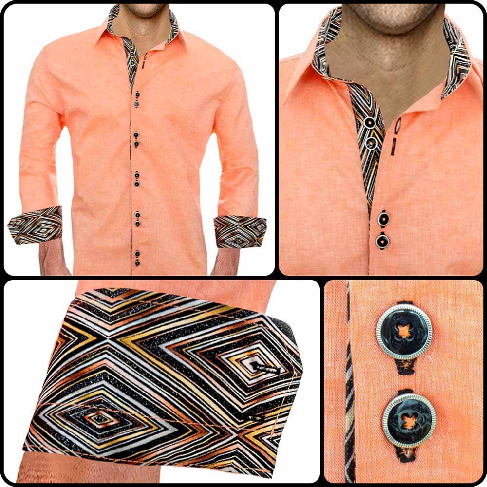 Orange-Cream-Dress-Shirts