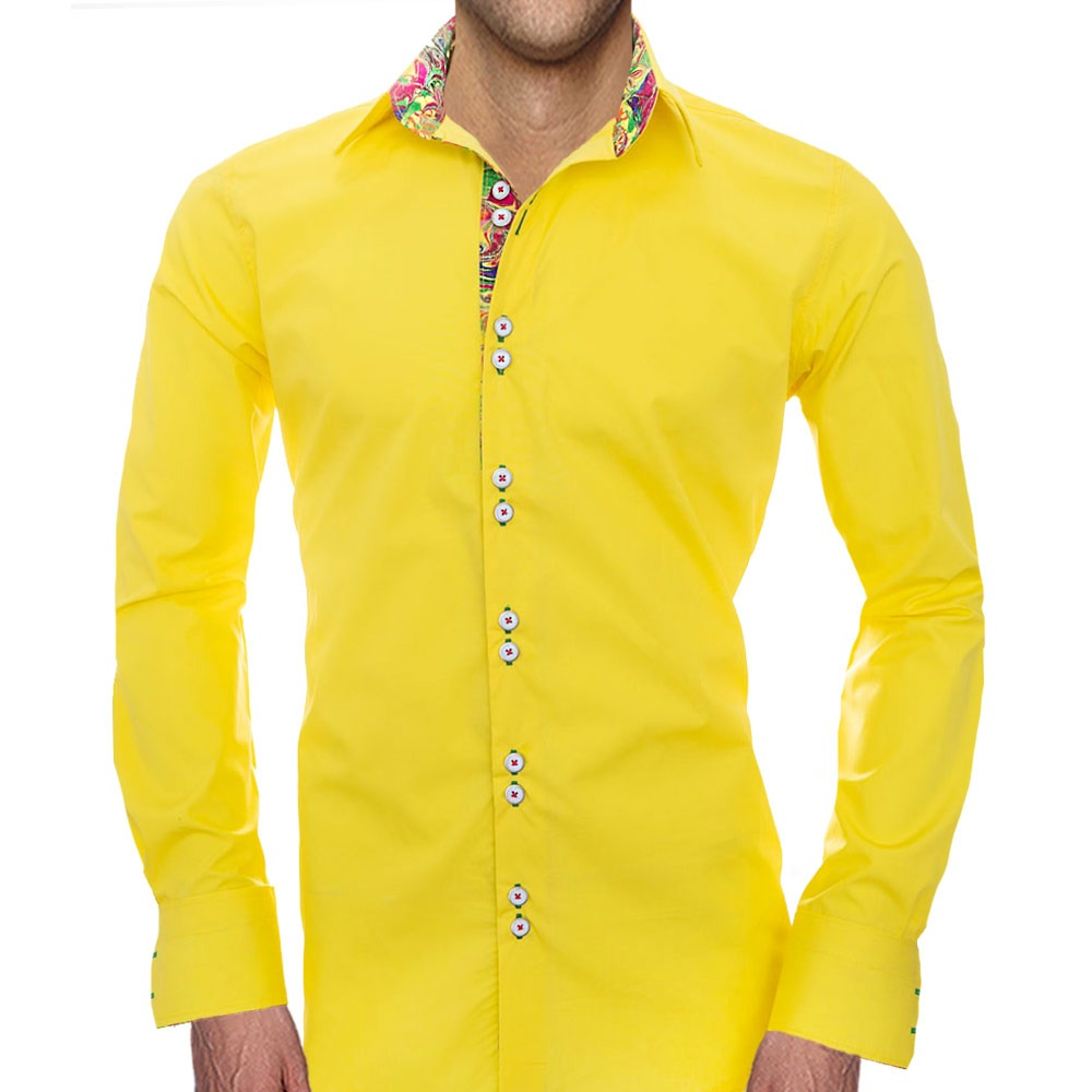 Yellow-Casual-Shirts