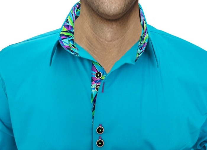 bright-turquoise-dress-shirts