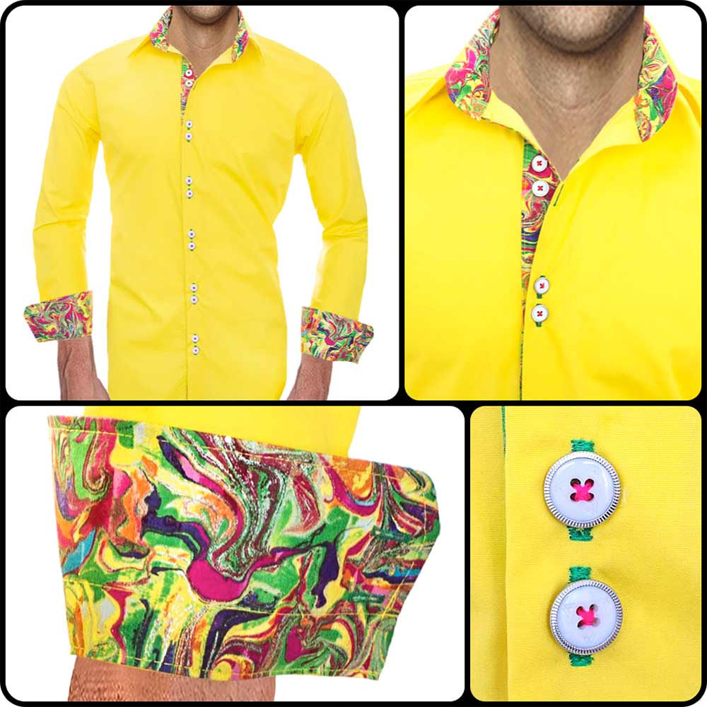 bright-yellow-mens-shirts