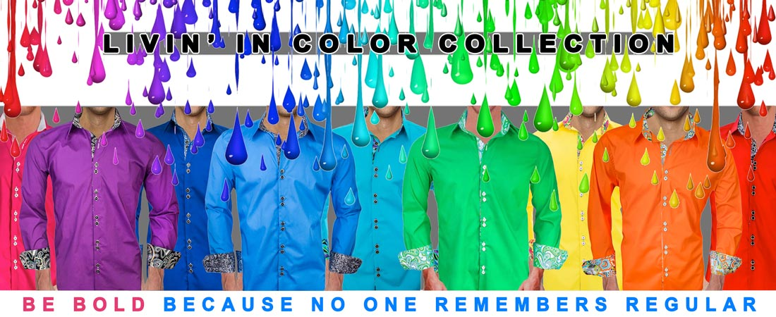 Colorful-Dress-Shirts