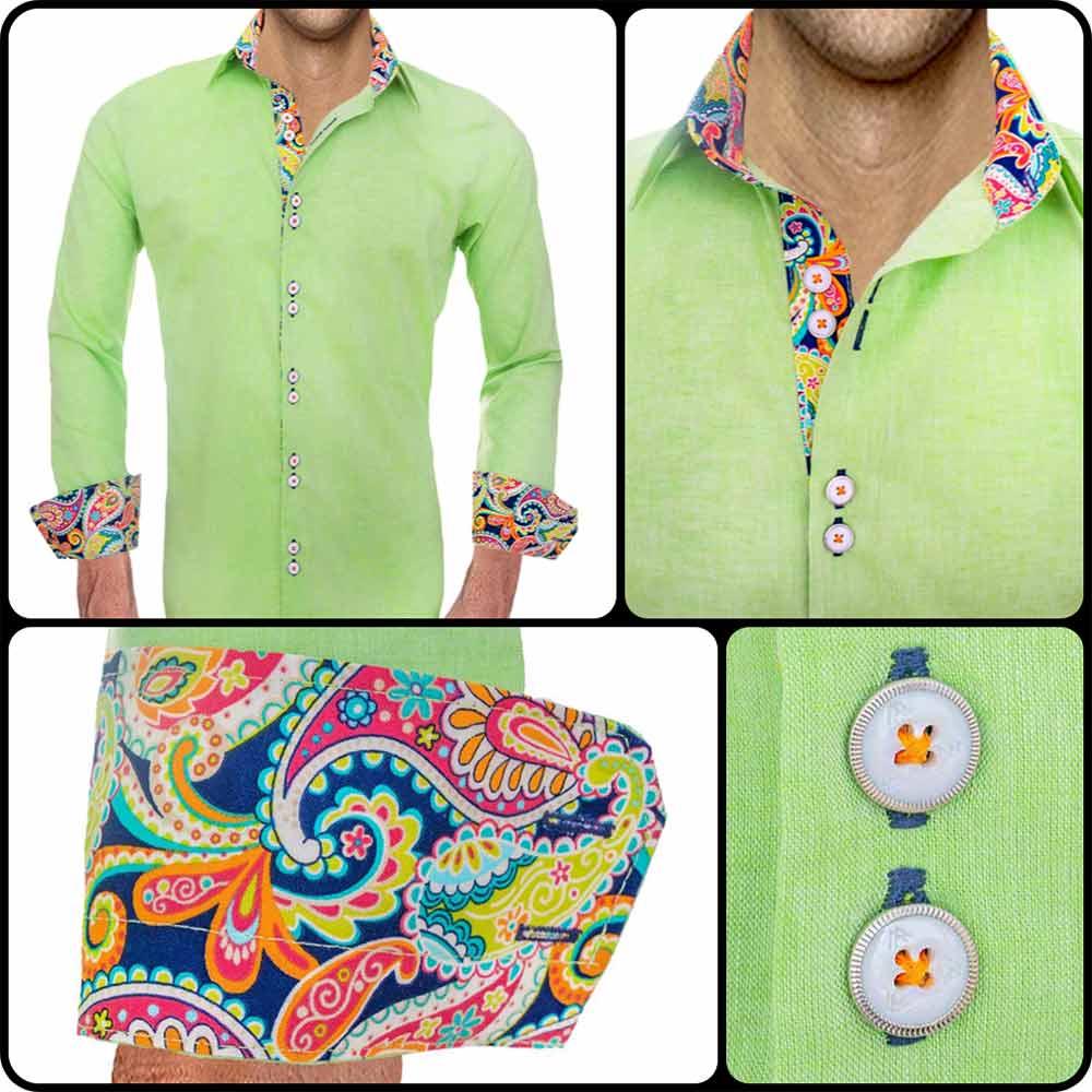 Lime-Green-Designer-Shirts