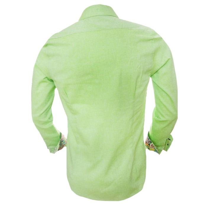 Lime-green-linen-shirts