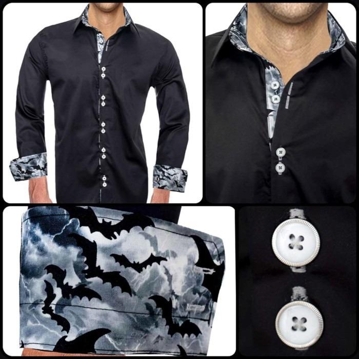 Mens-Halloween-Dress-Shirts