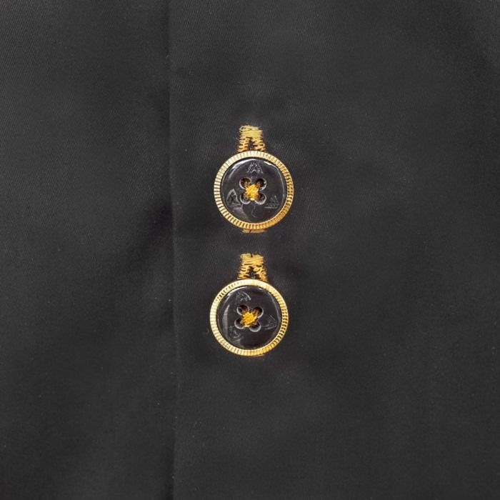 Black-with-gold-mens-shirts
