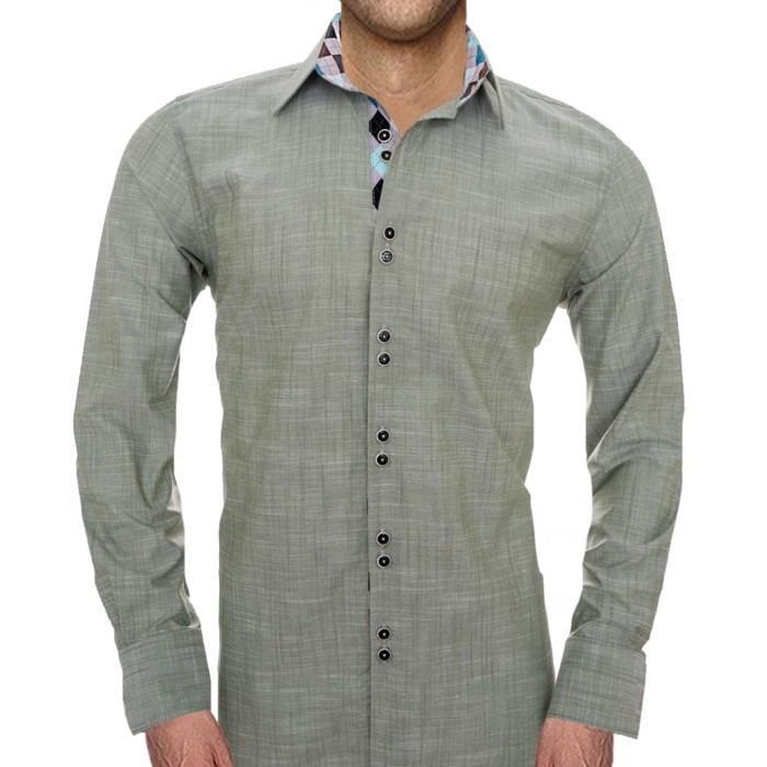Olive-Green-Mens-shirts