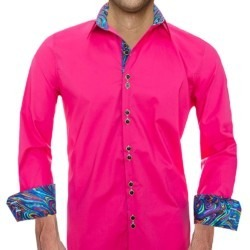 bright-pink-dress-shirt