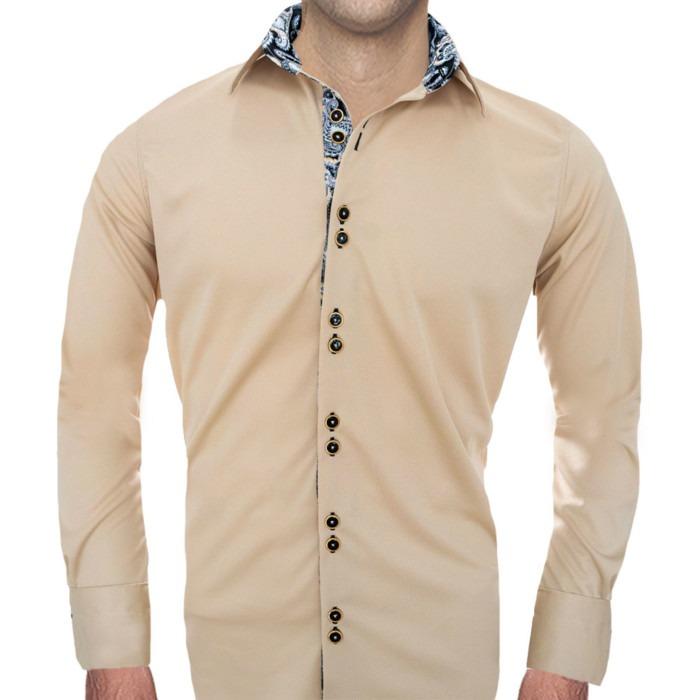 cream-and-black-mens-shirts