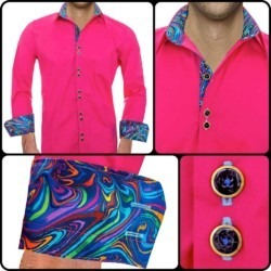 mens-bright-pink-dress-shirts