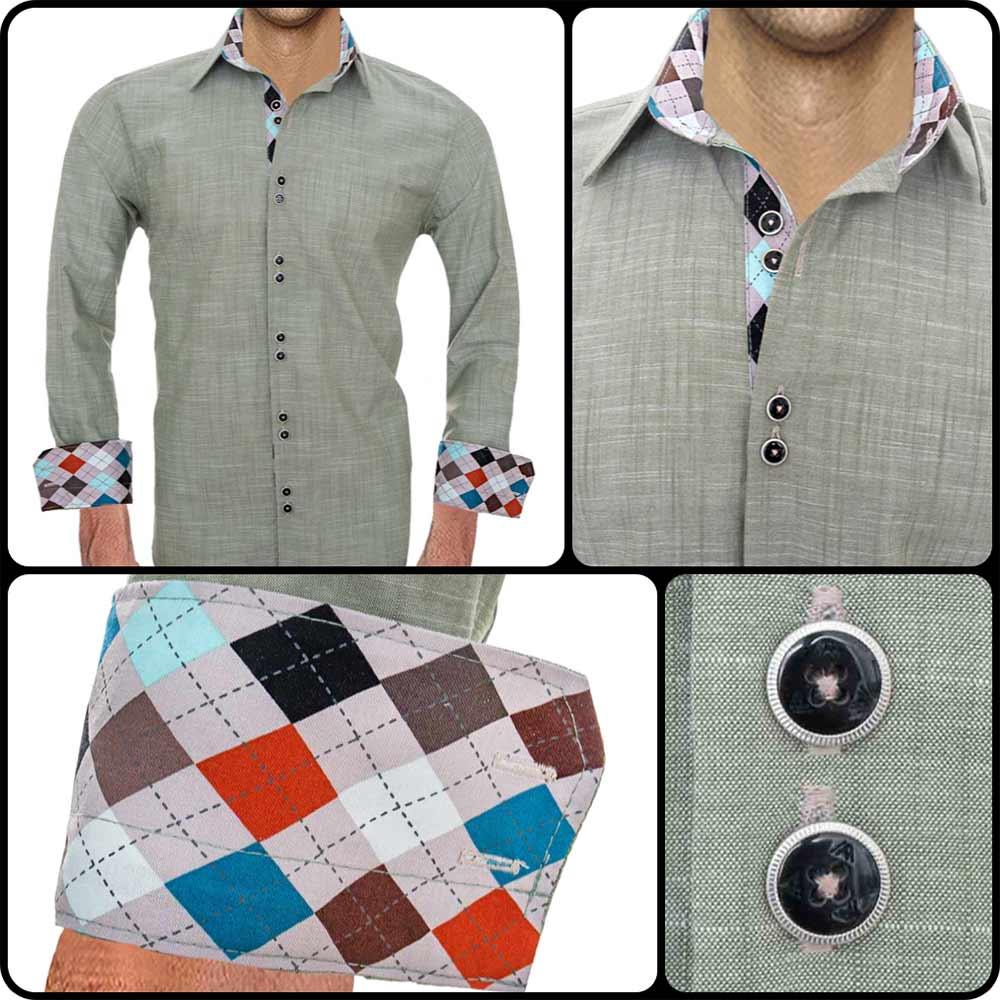 olive-dress-shirts