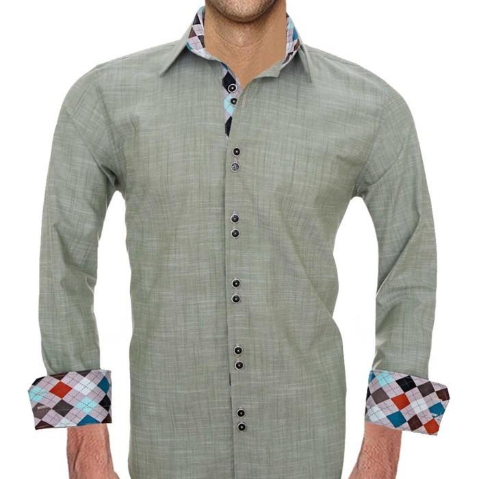 olive-green-dress-shirts